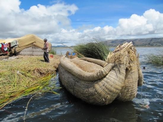 Circuit Pérou Îles Flottantes Uros Lac Titicaca